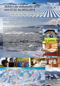 Skifahrt 2014 Flyer